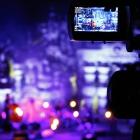 Concert Mélanie de Biasio (voix, flûte). Avec Pascal Mohy (piano), Samuel Gerstmans (contrebasse), Dré Pallemaerts (batterie) et Pascal Paulus (clavier). Palais idéal du facteur Cheval (Hauterives, Drôme). Vendredi 20 juin 2014. Photo : www.pascalkober.com