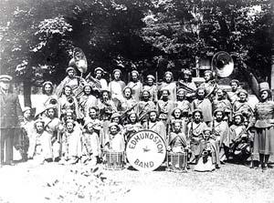 Edmunston Band. Nouveau-Brunswick, Canada.