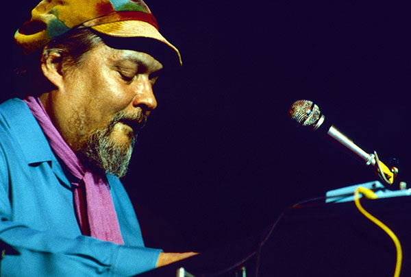 Eddy Louiss (orgue). 1941-2015 Festival de jazz de Grenoble (France). Mars 1988