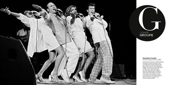 Manhattan Transfer Festival Jazz à Vienne, 1987 Photo : Pascal Kober