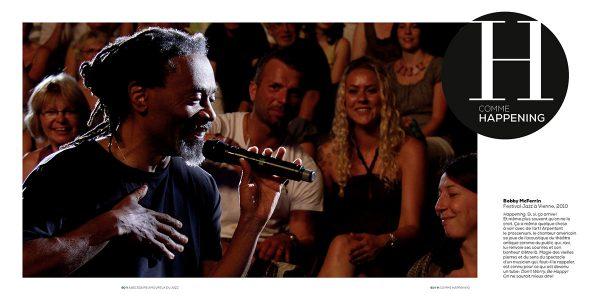 Bobby McFerrin Festival Jazz à Vienne, 2010 Photo : Pascal Kober