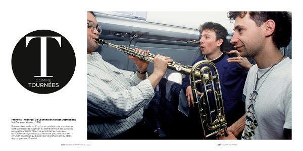 François Théberge, Gil Lachenal et Olivier Destephany Vol Genève-Moscou, 1991 Photo : Pascal Kober