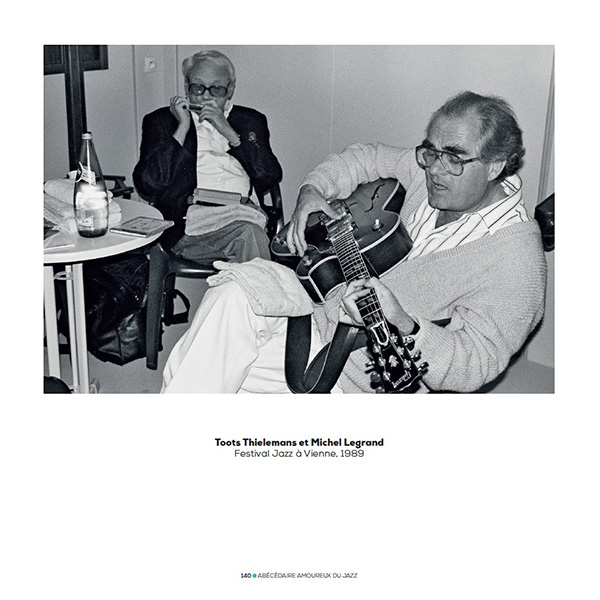 Michel Legrand et Toots Thielemans